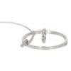 Set hanger, ring en armband witgoud met briljantjes Z-15959